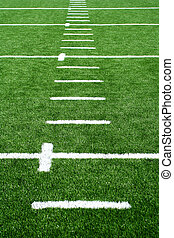 Astro turf football field - A Astro turf football field
