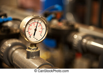 Industrial devices - analogue pointer for bar in the...