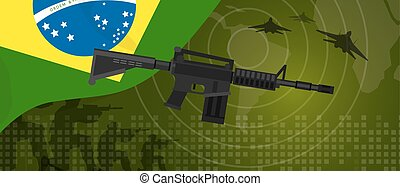Brazil military power army defense industry war and fight...