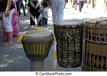 africano, tambores