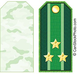 Green Military Shoulder Straps - Green military shoulder...