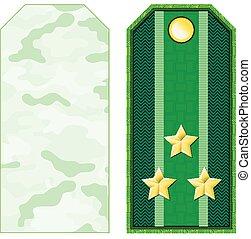 Green Military Shoulder Straps - Green military shoulder...
