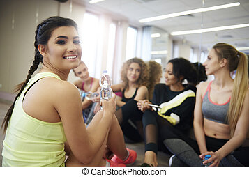 Give up unhealthy habits and join the gym