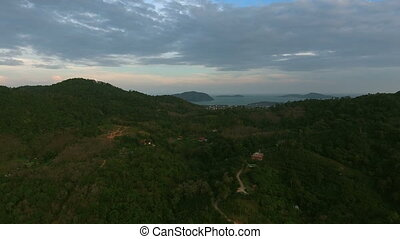 Flight over jungles in Phuket. 074. You can use it e.g. in...
