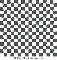 Unequal checks, abstract checkered background. Vector...
