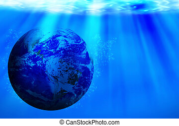 Save Water Concept, World Water Day - Save water concept,...
