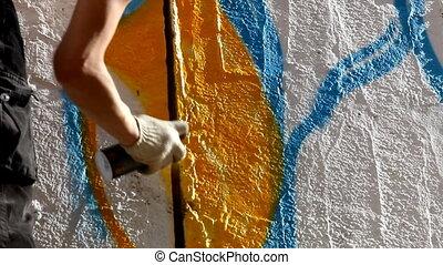 Paint graffiti - editor cut