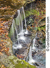 Autumn Waterfall at Oglebay