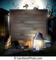 Halloween gloomy background