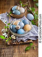 蛋, 復活節, 上色