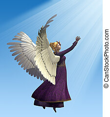 Angel in Violet