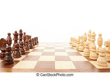 Chess game - Wooden chess game