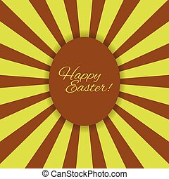 Easter egg illustration