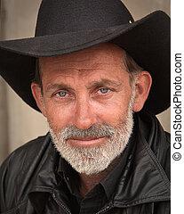 Western Portraiture - Portrait of Cowboy