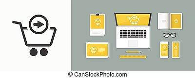 Forward web shop icon