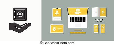 Strongbox service - Minimal icon