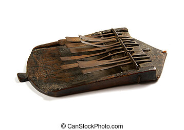 African Musical Instrument - An African musical instrument...