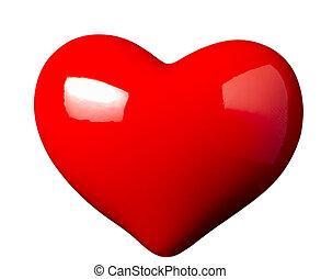 romance, Coração, FORMA, Amor