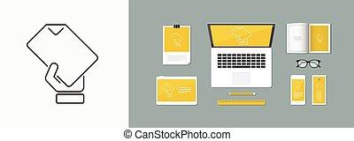 Sheet icon - Thin series