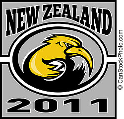 kiwi rugby player running new zealand 2011