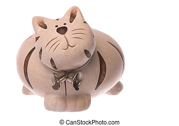 Kitty Bank Isolated