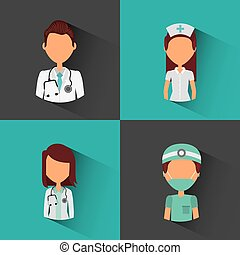 professional medical people