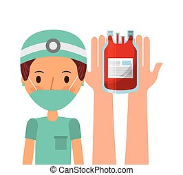 medical nurse icon