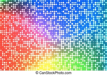holographic foil with round - Abstract techno background....