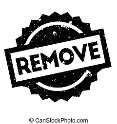 Remove rubber stamp. Grunge design with dust scratches....