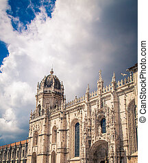Church in Belem Portugal - The monastry in Belem in Portugal...