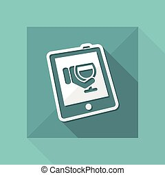 Wine website icon
