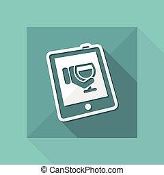 Wine website icon