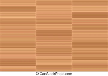 Parallel Pattern Stack Bond Parquet Flooring - Stack bond...