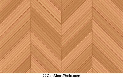 Chevron Parquet Wooden Floor Seamless Pattern - Chevron...