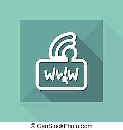 Modem internet connection