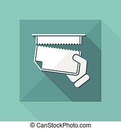 Snatch sheet paper