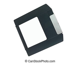 Zip Disk - A backup zip drive disk isolated against a white...
