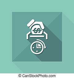 Money time icon