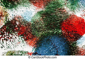 Abstract vibrant acrylic art background. Multicolor light...