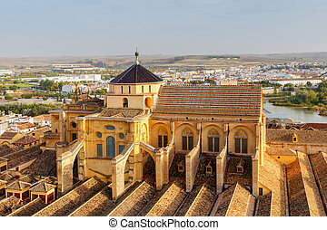 Cordova. Aerial view of the city. - Aerial view of the city...