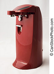 Electric Can Opener - front view of an electric can opener