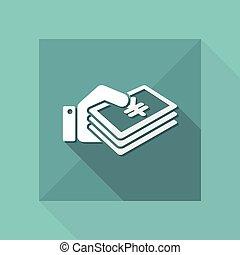 Cash payment - Yen