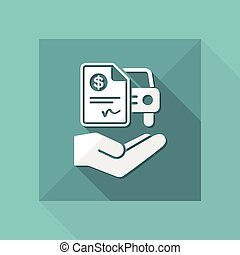 Car billing document - Dollar