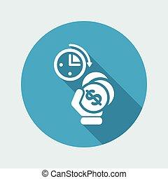 Money time icon