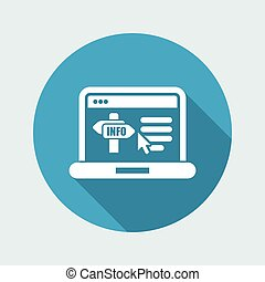 Info website icon