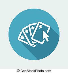 Poker website icon
