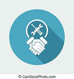 Worker handshake
