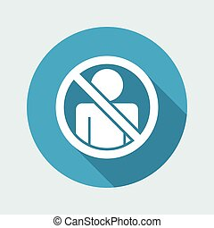 Vector illustration of single isolated icon depicting...