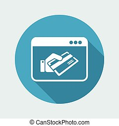 Credit card web payment