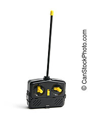 Radio Remote Control on White Background